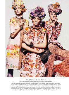 Gabby Dover, Kelsey Gerry, Ash Walker and Ruby Jean Wilson by Georges Antoni for Harpers Bazaar Australia June/July 2013