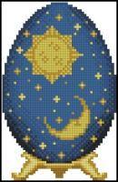 "Яйцо Фаберже ""Солнце и луна"""