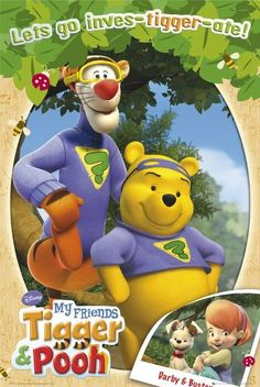 Tigger and pooh Tigger And Pooh, Winnie The Pooh Friends, Disney Winnie The Pooh, Old Cartoon Shows, Cartoon Pics, Old Kids Shows, 2000s Kids Shows, Childhood Tv Shows, My Childhood Memories