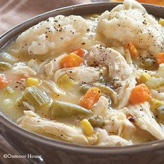Gooseberry Patch Recipes: Chicken & Dumplin' Soup from Our Best Comfort Food