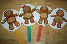 FREEBIE! Gingerbread wands!  Differentiation Station Creations