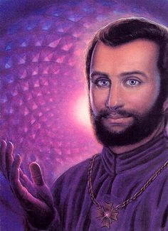 In metaphysical circles, Saint Germain is an Ascended Master - a light being who has earned the right not to reincarnate. Description from lightforcenetwork.com. I searched for this on bing.com/images