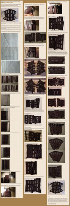 How to Make a Mesh Corset by sidneyeileen.deviantart.com on @deviantART