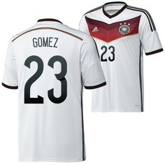 Germany 2014 World Cup Soccer jersey (23 Gomez)-You are allowed to buy the admirable Germany 2014 World Cup Soccer jersey (23 Gomez) you dream for in online shop with extreme low price,but you can get Germany 2014 World Cup Soccer jersey (23 Gomez) with the top quality and you can express your feeling in the 2014 World Cup.- http://www.uswmis.com/germany-2014-world-cup-soccer-jersey-23-gomez-uswmiscom-p-2356.html