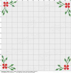 Cross Stitch Boarders, Cross Stitch Rose, Beaded Cross Stitch, Cross Stitch Flowers, Cross Stitch Designs, Cross Stitching, Cross Stitch Embroidery, Cross Stitch Patterns, Cross Stitch Christmas Ornaments