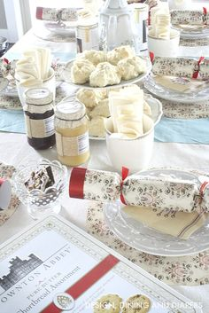 Charming Downton Abbey Tea Party! Tons of fun ideas! @worldmarket #ad #DoTheDownton