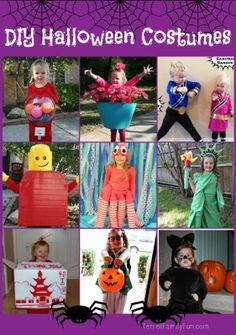 "DIY #Halloween Costumes for Kids .................. #GlobeTripper® | https://www.globe-tripper.com | ""Home-made Hospitality"" | http://globe-tripper.tumblr.com/"