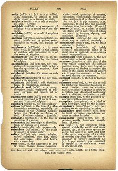 vintage dictionary page dictionary clip art free digital image old book page - Book Page