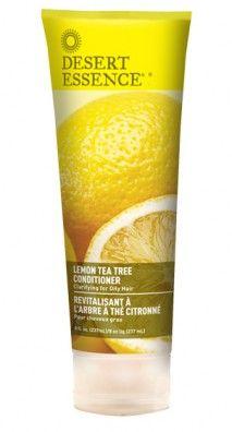 Lemon Tea Tree Conditioner for Oily Hair #glutenfree #vegan