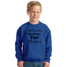 Silly Daddy Kids Sweatshirt