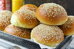 These soft-textured, flavorful buns are ideal for burgers as well as all kinds of sandwiches.