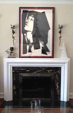 "SOLD: It certainly ""Moves like Jagger"". Warhol ""Mick Jagger"", in situ. www.robinrile.com"