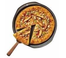 Bleu Cheese Buffalo Pizza  #chicken #pizza #recipe