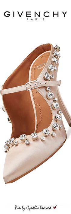 Givenchy | Crystal-Trim Mary Jane | cynthia reccord