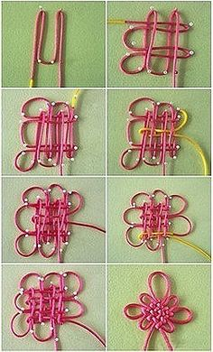 how to make Chinese knot