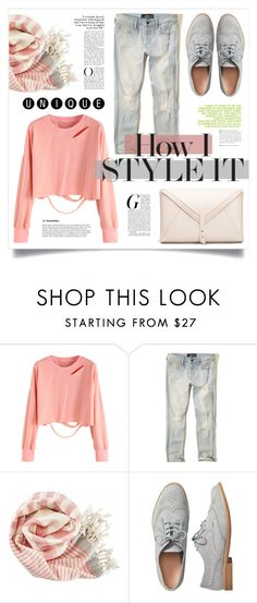 """""""HOW"""" by virgamaleva ❤ liked on Polyvore featuring Hollister Co., Title Nine, Gap and Andrea"""