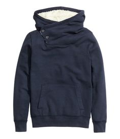 H&M Top with a pile-lined hood $29.95