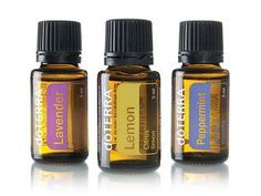 Essential oils for singers
