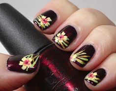 Marias Nail Art and Polish Blog: Flowers for the Oktoberfest