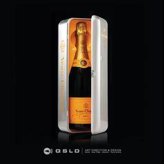 Fridge Veuve-Clicquot - Design by QSLD
