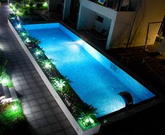 20 Best Swimming Pool Lighting Ideas Images