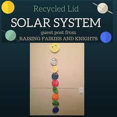 Recycle Solar System - Check out my Guest Post on Thrifty Minded Mama!!