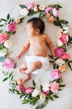 new born photo flower - Recherche Google