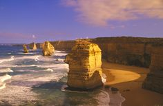 """Amazing road trips around the world, GREAT OCEAN ROAD, AUSTRALIA Stretching 177 miles between Torquay and Warrnambool in southwestern Victoria, the road was built as tribute to the soldiers who died during World War I. The highpoint of the track is the """"Shipwreck Coast,"""" which is home to the spectacular rock formations called the Twelve Apostles."""