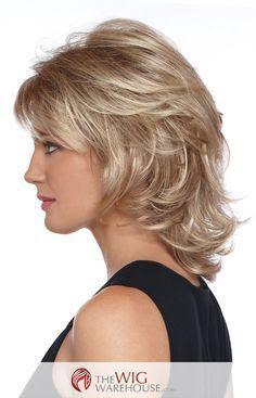 Image result for medium shaggy haircut for 60splus