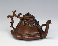Jeweled Teapot  Meissen Porcelain Manufactory, Germany, 1711-1715  The Hermitage Museum