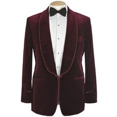 Velvet Smoking Jacket. The epitome of casual classy!