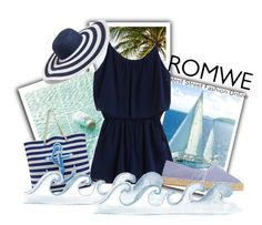 romwe by alinka-titova on Polyvore featuring мода, MANGO and Vera Bradley