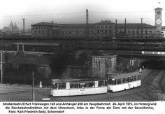 Strassenbahn Erfurt 1973