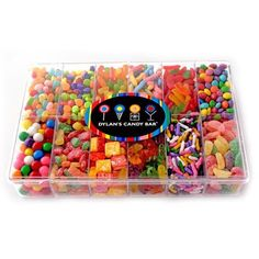 Buy a clear craft organizer or tackle box tray and fill each compartment with a different type of movie theater candy. - from Homemade Gifts on FB