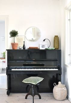 great piano for small place http://pinterest.com/cameronpiano