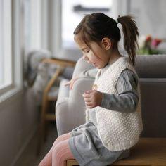 #chunkyvest #barnestrikkfrapaelas #paelas