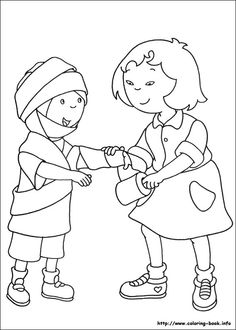 Coloring pages for kids. All your favorite cartoon stars are here ! Bible Coloring Pages, Coloring Sheets, Coloring Books, Colouring, Hospital Health, Oki Doki, Caillou, Medical Help, Kindergarten