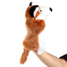 Plush hand puppets Soft Toy Fox #CLICK! #clothing, #shoes, #jewelry, #women, #men, #hats, #watches