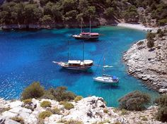 Göcek-Yacht tourism-Turkey