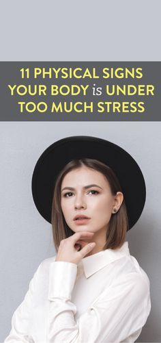 Take some time for relaxation and self care - 11 Physical Signs Your Body Is under Too Much Stress