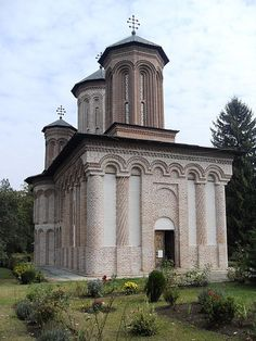 Snagov Monastery, the burial site of Vlad the Impaler, aka Dracula. Legend holds that a cat or dog jumped over his corpse, making him a Vampire. I guess that traditional views on vampires aren't sparkly enough for Twilight.