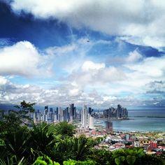 Ciudad de Panamá desde Cerro Ancon
