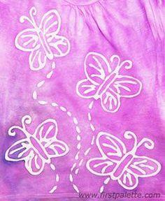 Glue Batik craft