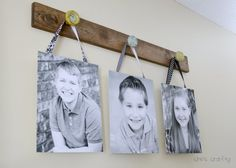 DIY Home Decor | Turn vintage door knobs into a hanging picture holder!
