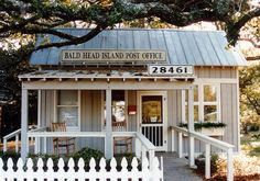 I know it's the post office on Bald Head Island, but it's a great little cottage design as well