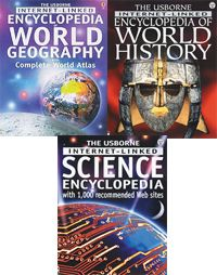 Usborne Books as Homeschool Resources-lists books recommended in different curriculums.