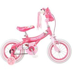 Hello kitty bike...Bella's christmas gift for this year.