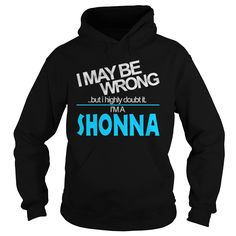 TeeForShonna  Shonna Doubl It  New Shonna Name Shirt