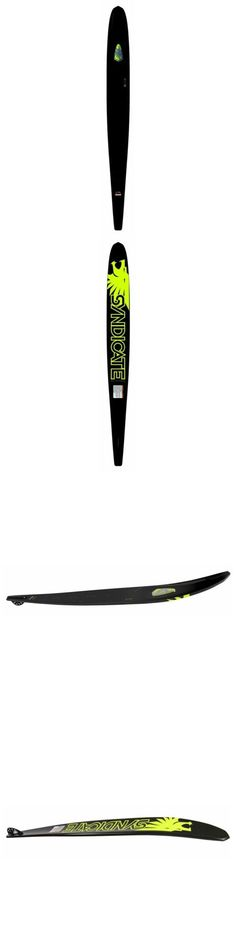 Waterskis 71175: Ho Syndicate V-Type Slalom Water Ski Black - 2015 -> BUY IT NOW ONLY: $599.99 on eBay!