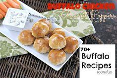 Buffalo Recipes Roundup | snappygourmet.com